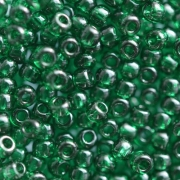 Бисер TOHO 10/0 круглый 5 граммов 0939 т.зелёный