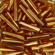 Бисер TOHO BUGLE 9/0 5 граммов 0022C т.золотистый